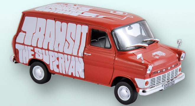 Ford Transit 1965 Rouge