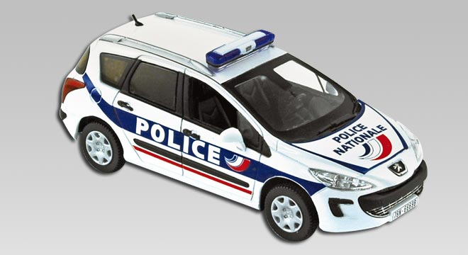 Peugeot 308 SW 2009 Police Nationale