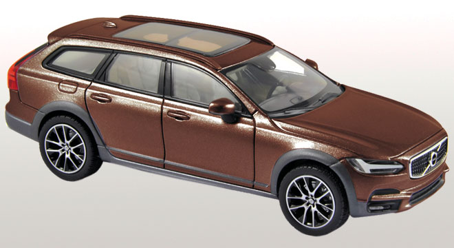 Volvo V90 Cross Country 2017 Brun Maple Métal