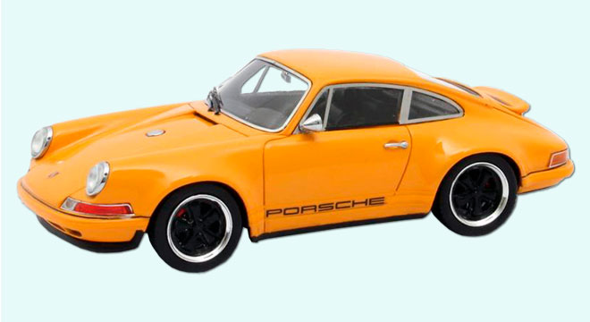 Porsche 911 Singer Design 2014 Orange