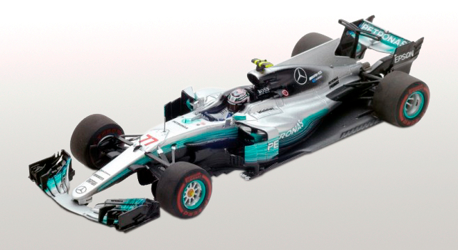 Mercedes W08 EQ Power+ AMG Petronas F1 Team #77 Vainqueur GP F1 Russie 2017 Valtteri Bottas