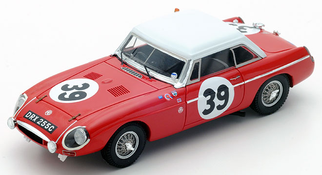 MG B British Motor Co. #39 11ème Le Mans 1965 P.Hopkirk / A.Hedges