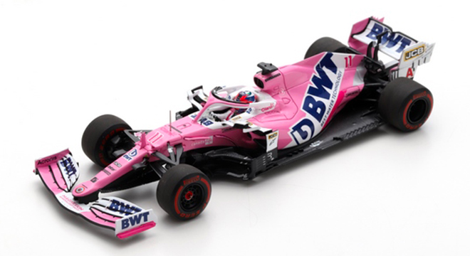 Racing Point RP20 BWT Racing Point F1 Team #11 6ème GP F1 Styrie 2020 Sergio Perez