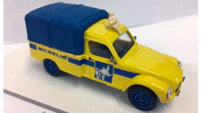 Citroën Acadiane Pick-up Bâché Michelin (un seul exemplaire)