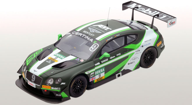 Bentley Continental GT3 Bentley Team ABT #9 ADAC GT Master Red Bull Ring 2016 M.Holzer / A.Weishaupt