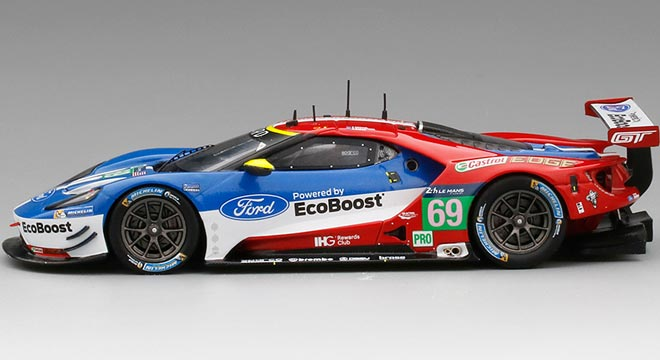 Ford GT LM GTE Ford Chip Ganassi Team USA #69 20ème Le Mans 2016 R.Briscoe / R.Westbrook / S.Dixon