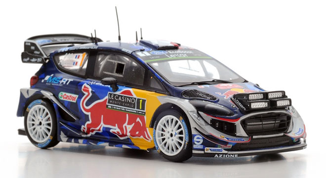 Ford Fiesta WRC M-Sport World Rally Team #1 Vainqueur Rallye Monte Carlo 2017 S.Ogier / J.Ingrassia