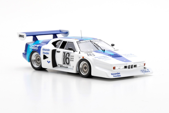 BMW March M1 March Racing #16 24H Le Mans 1979 D.Quester / G.Edwards / I.Grob